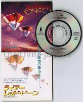 "Promo! RED DAWN Liar DAVID ROSENTHAL/ex.RAINBOW JAPAN 3"" CD TODP-2383  Free S&H"