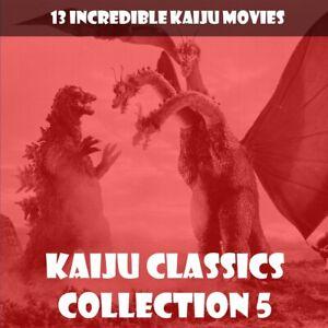 KAIJU CLASSICS 5 🎬 13 CLASSICS WITH GODZILLA, HEDORAH, GIGAN AND MORE 📽️