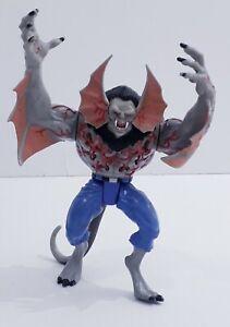 Spiderman Morbius Figure Rare Vampire Wars Toybiz 1996 Marvel
