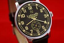 OLD stock wrist watch Luftwaffe German WAR2 WW2 style Vintage Russian USSR