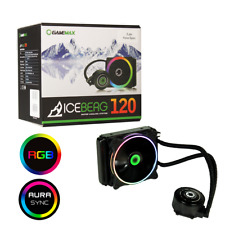 Game Max Iceberg 120mm ARGB Water Cooling System with 3pin AURA Sync Support
