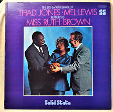 Ruth Brown Big Band Sound of Thad Jones Mel Lewis Featuring LP NM Jazz Vocal