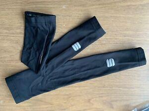 Sportful No Rain Leg Warmers Mens Medium Black