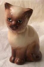 Vintage Sylvac Small Birman/Siamese Cat Figurine 7.5cm High