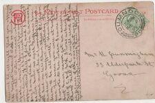 Mr. R. Cunningham, 33 Elderpark Street, Govan 1905 Postcard, B395