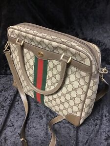 Authentic Gucci Brief Case/messager Bag