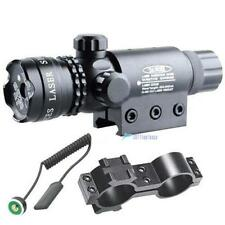 Tactical Hunting Rifle Green Laser Sight Dot Scope Adjustable W/ Clamp Mount TLC