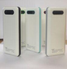 Banco de Alimentación 50000mAh LED 3 USB Cargador Batería Externa Para iPhone Samsung UK
