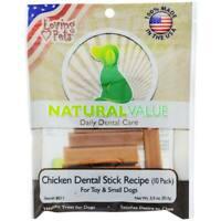 BEST Dog Treats MADE IN USA Dog Dental Chews Dental Care Dental Treats for Dogs