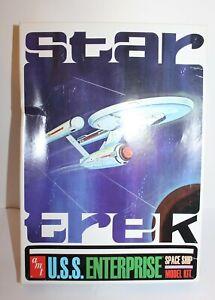 Star Track U.S.S Enterprise Space Ship Model Kit AMT 2008 AMT610