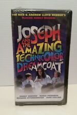 DONNY OSMOND JOSEPH AND THE AMAZING TECHICOLOR DREAMCOAT FILM VHS VIDEO SEALED