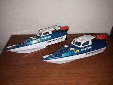 lot jouet bateau de bassin Monteleone vintage
