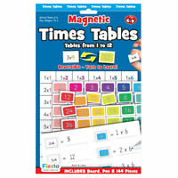 Times Tables Magnetic Chart - Magnetic Set - Fun daily educational activity
