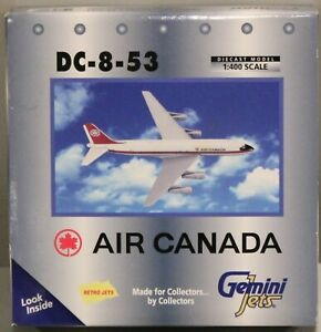 NEW OLD STOCK GEMINI JETS RETRO JETS AIR CANADA DC-8 DC-8-53 1:400 SCALE NIB
