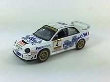 IXO  BASED CODE 3 BELL AND HARRISON SUBARU WRC RALLY CAR