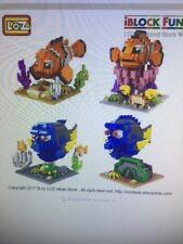 Finding Nemo  LOZ Diam. Building Blocks Set 4 per auction