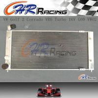 For Volkswagen VW Golf 2 Corrado VR6 Turbo All Aluminum Radiator