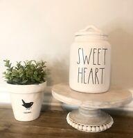 Rae Dunn Magenta Baby SWEET Heart Canister , New Rare