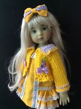 "Outfit for Dianna Effner doll Little Darling 13"" 3pc."