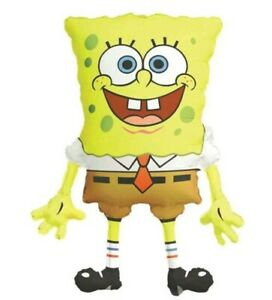 XL Spongebob 85cm Supershaped foil balloon birthday Party Decoration uk sponge