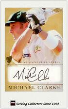 2004-05 ESP Cricket Australia Trading Card Signature Card: Michael Clarke