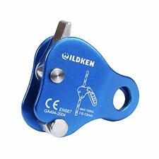 New listing Climbing Ascender Fall Protection Belay Device Climbing Rope Grip Clamp for