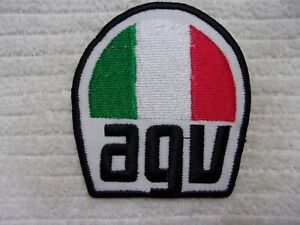 AGV  NEW EMBROIDERED COMPANY IRON ON NAME PATCH TAG