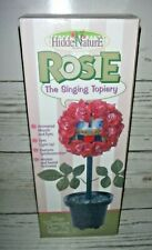 """Gemmy 1998 Rosie the Singing Topiary Sings """"Over the Rainbow"""" Sound Motion New"""