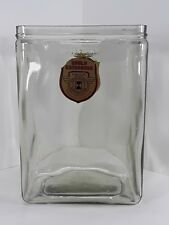 Gould Kathanode Glass Battery Jar Long Life Spun Glass FarmLight rare label vtg