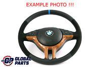 BMW X5 Series E53  NEW Black Leather / Alcantara Sport Steering Wheel 3 Spoke