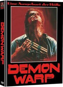 Demon Warp DVD x 2 Mediabook WMM Emmett Alston 1988