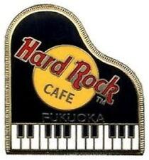 Hard Rock Cafe FUKUOKA 2000 Black GRAND PIANO PIN 3LC Logos - HRC Catalog #2512