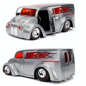 1/24 Jada D-Rods Div Cruiser Camion Fourgon Gris Neuf Boite Livraison Domicile