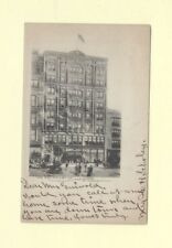 CT New Haven rare 1906-08 postcard  EDWARD MALLEY STORE Conn to Guilford