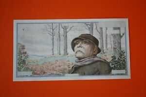 50 000 francs 1er projet Georges Clemenceau 1957 - copie -