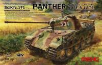 Meng TS-035 Model 1/35 Sd.Kfz.171 Panther Ausf.A Late WWII german Hot