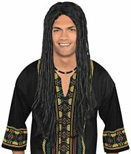 Easy to Fit Synthetic Hair Long Dreadlocks Rasta Wig Costume for Teens & Adults