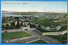 CPA Canada: Harbor from parliament - Quebec / 1908