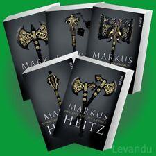 DIE ZWERGE - DIE KOMPLETTE SAGA   MARKUS HEITZ   Band 1-5 der Fantasy-Romanreihe