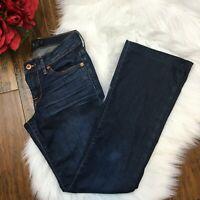 Lucky Brand Women's Sweet N' Low Denim Blue Jeans Pants Size 0/26 Regular