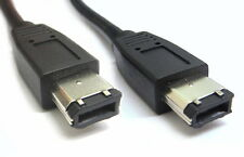 5m FireWire 6 Pin to 6 Pin Cable IEEE 1394 6P-6P Male-Male 6M/6M up to 400Mbps