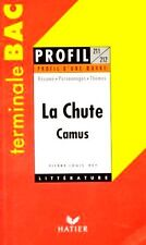 La Chute // Albert CAMUS // Terminale BAC // Profil d'une oeuvre