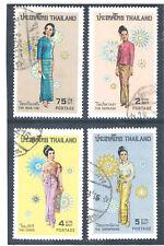 THAILAND 1972 Costumes of Thai Women FU
