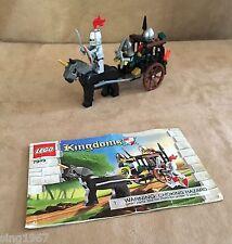 7949 Lego Complete Prison Carriage Rescue castle knight kingdoms instructions