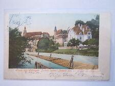 Tübingen - Corps Suevia - 1902 Schwabenhaus - Gruss aus ... Flößer / Studentika