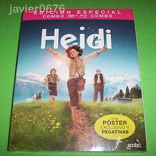 HEIDI EDICION ESPECIAL BLU-RAY + DVD NUEVO Y PRECINTADO