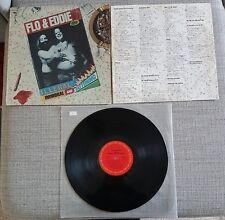 FLO & EDDIE-ILLEGAL,IMMORAL & FATTENING-US ISSUE LP ON CBS RECORDS-1975-GOOD.CON