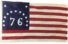 "12x18 12""x18"" Historical Bennington 1776 Sleeve Flag Garden"