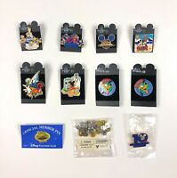 Walt Disney World Disney Land Pins Retro Mickey Pluto Lot of 10 Vacation Club