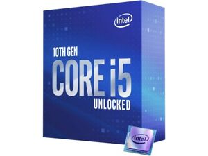 Intel Core i5-10600K Comet Lake 6-Core 4.1 GHz LGA 1200 125W BX8070110600K
